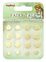 Set of flowers, Fairy Tale 3 (resin)