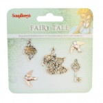 Metal charms set Fairy Tale 2