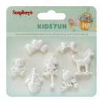 Set of polymer items Kids' fun 3