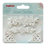 Set of polymer items Rose garden 1