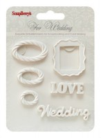 Set of polymer items Wedding 3