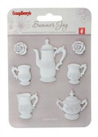 Set polymer items. Tea-service JH-13B5951