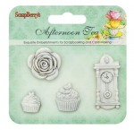 Set polymer items Afternoon Tea. Tea-party JH-13B5957
