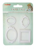 Set polymer items Fairy Tale. Set of frames JH-13B5964