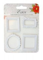 Set of polymer items Elegy. Set of frames JH-13B5962