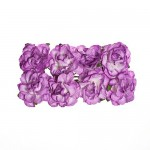 Paper Flowers Clove Lilac (8 Pieces Per Pack)