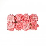 Paper Flowers Clove Pink (8 Pieces Per Pack)