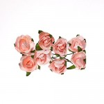 Paper Flowers – Rose – Light Pink (8 Pieces Per Pack)