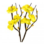 Cherry Blossom (2 Piece set 30mm*110mm) Light Yellow