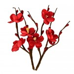 Cherry Blossom (2 Piece set 30mm*110mm) Red