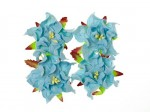 Gardenia 5cm 4 pcs in a pack SOFT BLUE