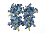 Gardenia 5cm 4 pcs in a pack 2-TONES BLUE