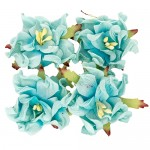 Gardenia 5cm 4 pcs in a pack SKY BLUE