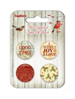 Set of embellishments №2-1 That Special Time of Year
