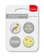Set of embellishments № 4 Fall in love
