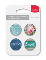 Set of embellishments № 2 Secret