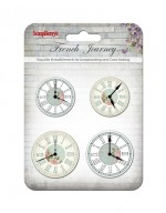 Set of clock «French journey»
