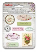 Epoxy Stickers French Journey (ENG)