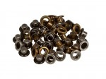 Set of eyelets 4.8 mm, 50 pcs , anti-silver+anti-brass