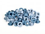 Set of eyelets 4.8 mm, 50 pcs , blue