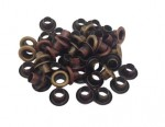 Set of eyelets 4.8 mm, 50 PCs, gold, bronze