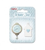 Set of metal embellishments Winter Joy 1