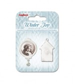 Set of metal embellishments Winter Joy 2