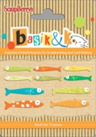 Set of metal brads Basik&K Fishing 2