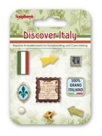 Set of decorative brads Discover Italy
