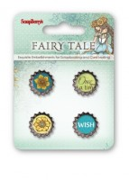 Set of metal cork Fairy Tale