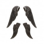 Set of wings, silver