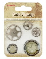 Set of decorative elements Auto Vintage 2