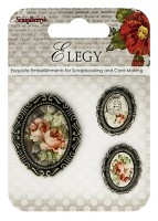 Set of decorative elements Elegy