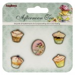 Set of decorative elements Afternoon Tea