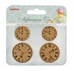 Set of cork stickers Afternoon Tea 1