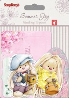 Set of cards 35 pcs Summer Joy