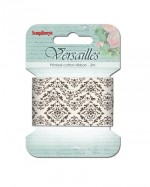 Printed ribbon, Versailles, 20mm, 2m, cotton
