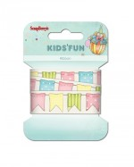 Printed ribbon, Kids&Fun, 20mm, 2m, cotton