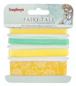 Set of decorative ribbons Fairy Tale, 4 pcs, 1m each