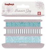 Set of decorative ribbons Summer Joy 2, 4 pieces, 1m each