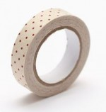 Cotton tape Chebbi pink polka dot №59 15mm*4m SCB490050