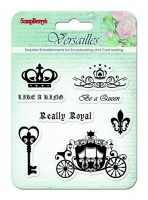 Set of stamps 10,5*10,5cm Versailles. Like a king SCB4901003b
