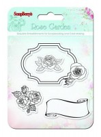 Set of stamps 10,5*10,5cm Rose garden SCB4901008