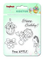 Set of stamps 10,5*10,5cm Kids' fun SCB4901012b