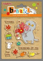 Set of stamps 10,5*10,5cm Basik