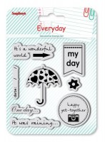 Set of stamps 10,5*10,5cm Every day. My Day SCB4904001b