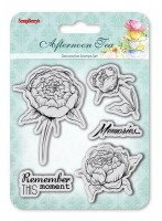Set of Clear Stamps (10,5*10,5cm) Afternoon Tea - Memories