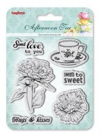 Set of Clear Stamps (10,5*10,5cm) Afternoon Tea - Sweets to Sweet