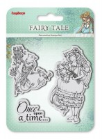 Set of stamps 10,5*10,5cm Fairy tale. Once upon a time SCB4904009b