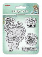 Set of stamps 10,5*10,5cm Fairy tale. Make a wish SCB4904010b